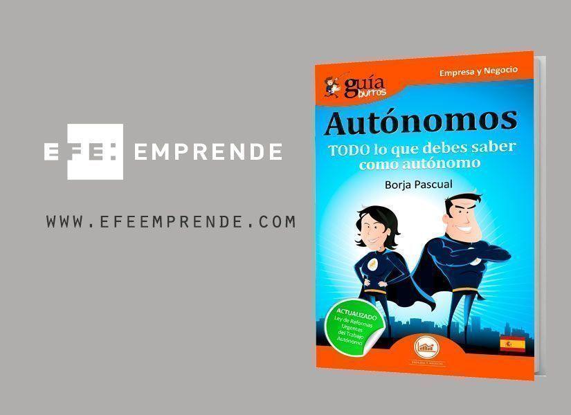 EFE Emprende se hace eco del GuíaBurros para autónomos