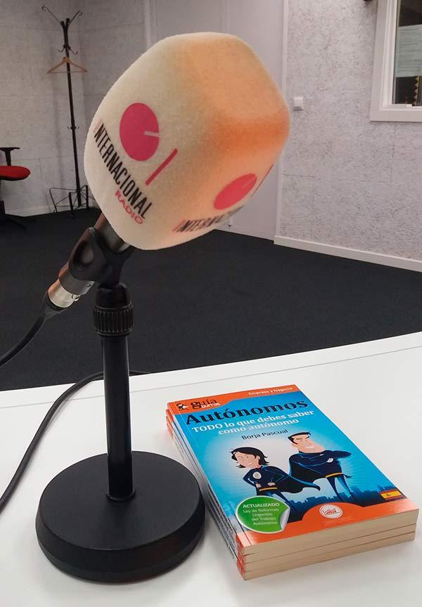 GuíaBurros para autónomos en Radio Internacional