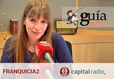 GuíaBurros en CapitalRadio, con Mabel Calatrava.
