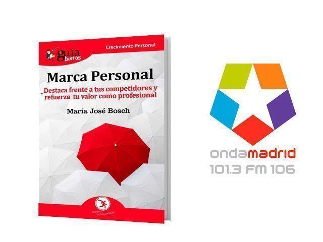 GuíaBurros de la Marca Personal en Onda Madrid