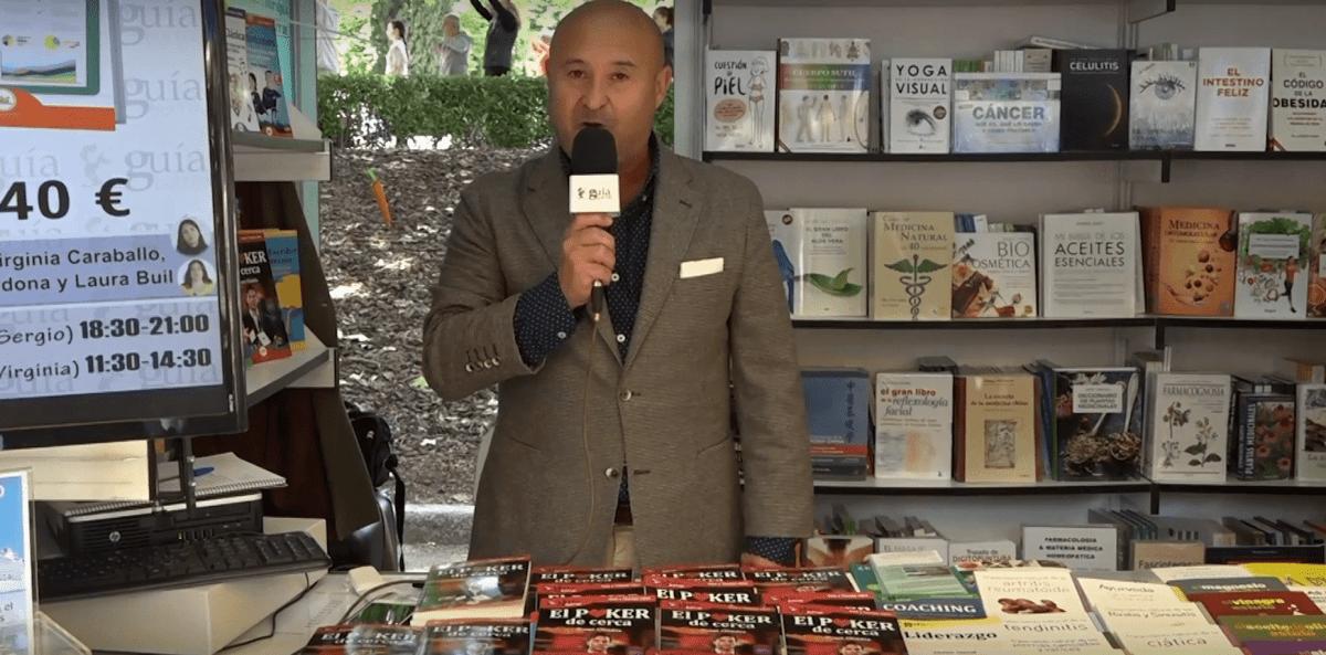 El GuíaBurros: El poker de cerca y su autor Yossi Obadía, en Casa de Letras durante la FLM