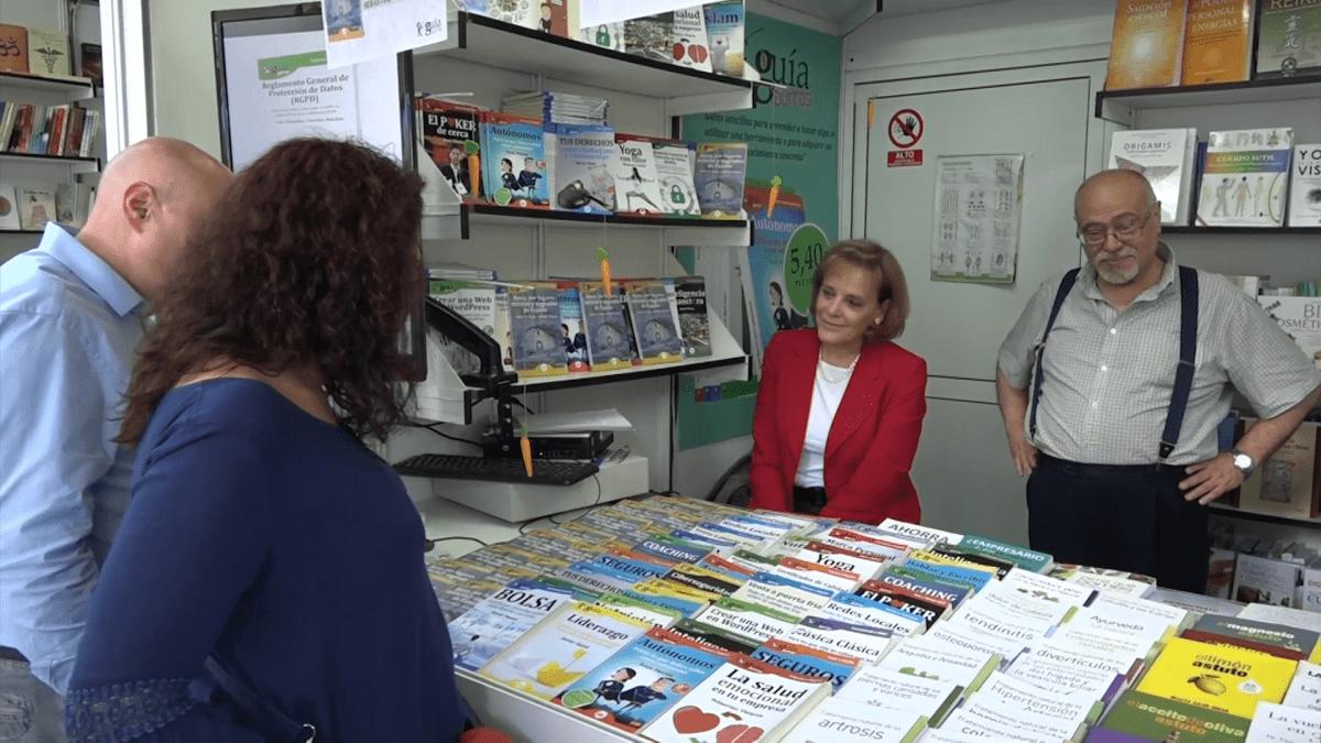 Esther de Aragón y Sebastián Vázquez hablaron con Casa de Letras en la FLM