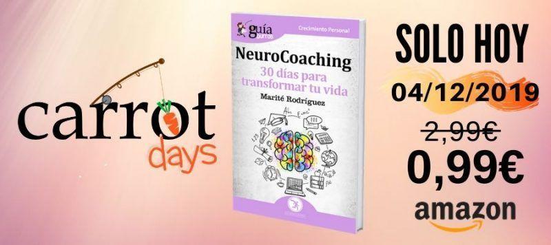 La versión digital del «GuíaBurros: NeuroCoaching» a 0,99€ en Amazon