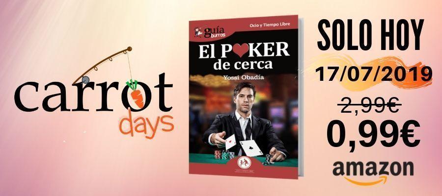 La versión digital del «GuíaBurros: El Póker de cerca» a 0,99€ en Amazon