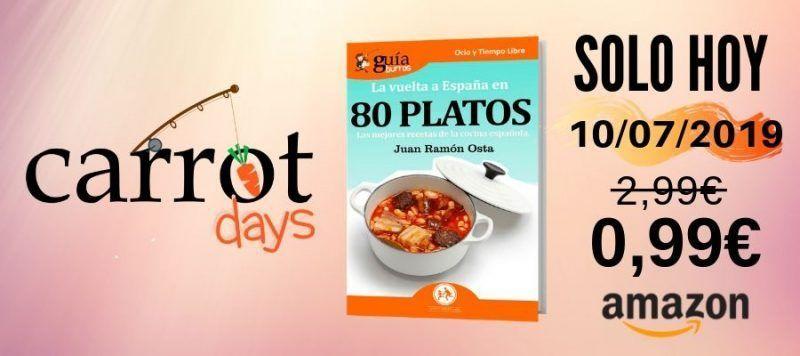 La versión digital del «GuíaBurros: La vuelta al mundo en 80 platos» a 0,99€ en Amazon