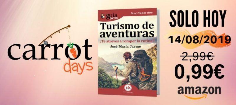 La versión digital del «GuíaBurros: Turismo de Aventuras» a 0,99€ en Amazon