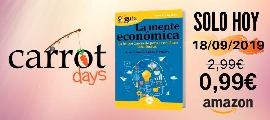 La versión digital del «GuíaBurros: La mente económica» a 0,99€ en Amazon