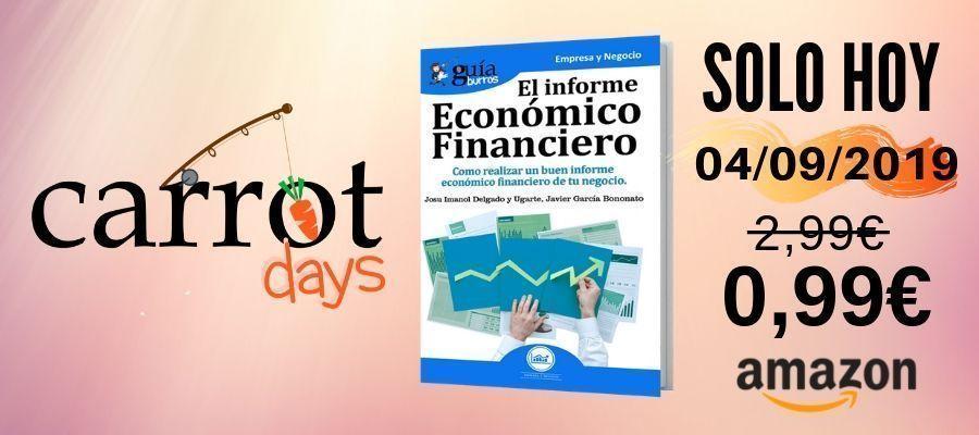 La versión digital del «GuíaBurros: Informe Económico Financiero» a 0,99€ en Amazon