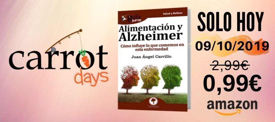 La versión digital del «GuíaBurros: Alimentación y Alzheimer» a 0,99€ en Amazon