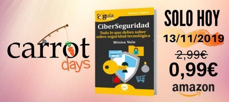La versión digital del «GuíaBurros: Ciberseguridad» a 0,99€ en Amazon