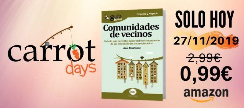 La versión digital del «GuíaBurros: Comunidades de vecinos» a 0,99€ en Amazon