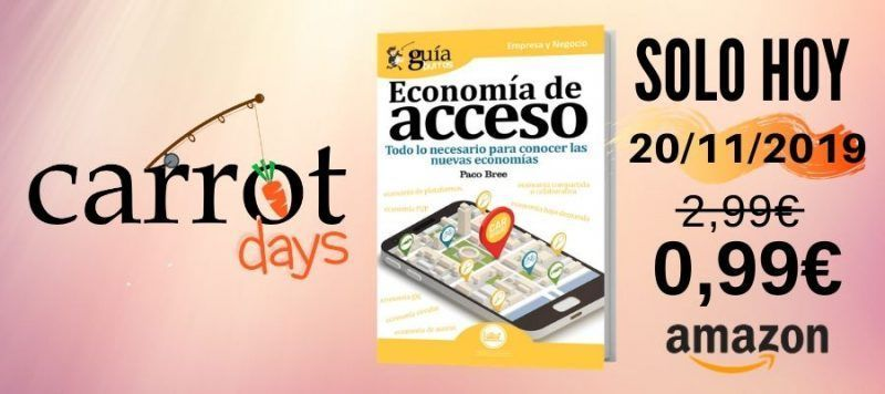 La versión digital del «GuíaBurros: Economía de acceso» a 0,99€ en Amazon