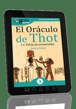 GuíaBurros: El Oráculo de Thot. La tabla de esmeralda.