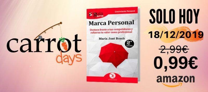 La versión digital del «GuíaBurros: Marca Personal» a 0,99€ en Amazon