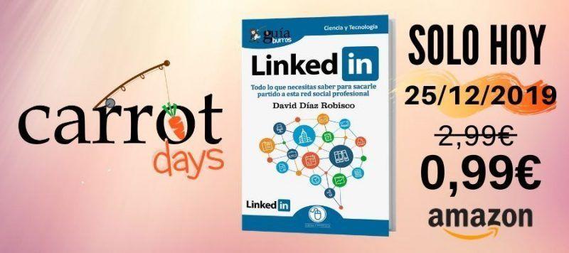 La versión digital del «GuíaBurros: LinkedIn» a 0,99€ en Amazon