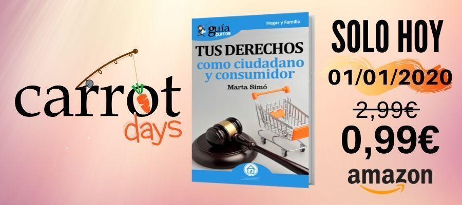 La versión digital del «GuíaBurros: Tus derechos como ciudadano y consumidor» a 0,99€ en Amazon