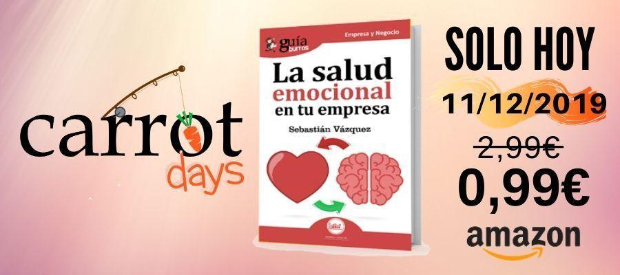 La versión digital del «GuíaBurros: La salud emocional en tu empresa» a 0,99€ en Amazon