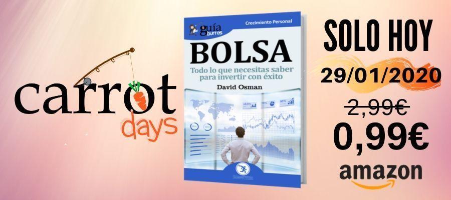 La versión digital del «GuíaBurros: Bolsa» a 0,99€ en Amazon