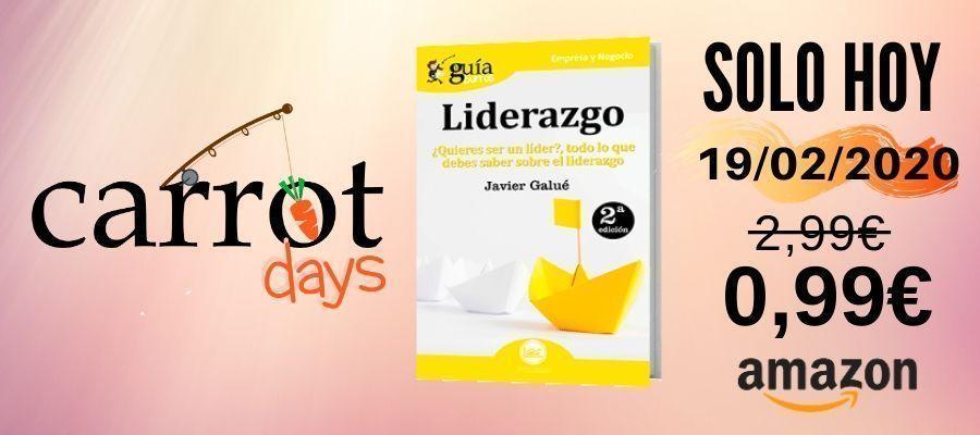 La versión digital del «GuíaBurros: Liderazgo» a 0,99€ en Amazon