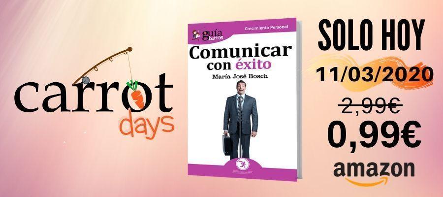 La versión digital del «GuíaBurros: Comunicar con éxito» a 0,99€ en Amazon