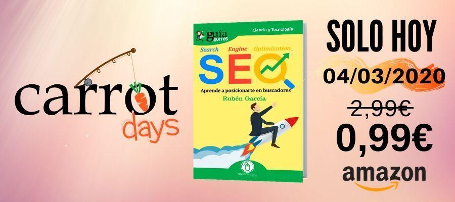 La versión digital del «GuíaBurros: SEO» a 0,99€ en Amazon