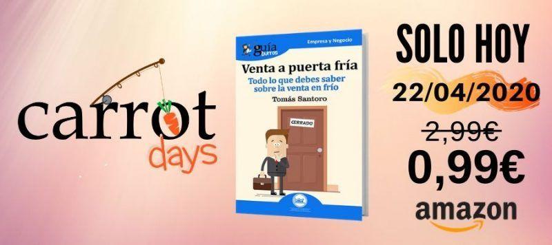 La versión digital del «GuíaBurros: Venta a puerta fría» a 0,99€ en Amazon