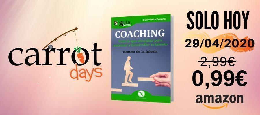 La versión digital del «GuíaBurros: Coaching» a 0,99€ en Amazon