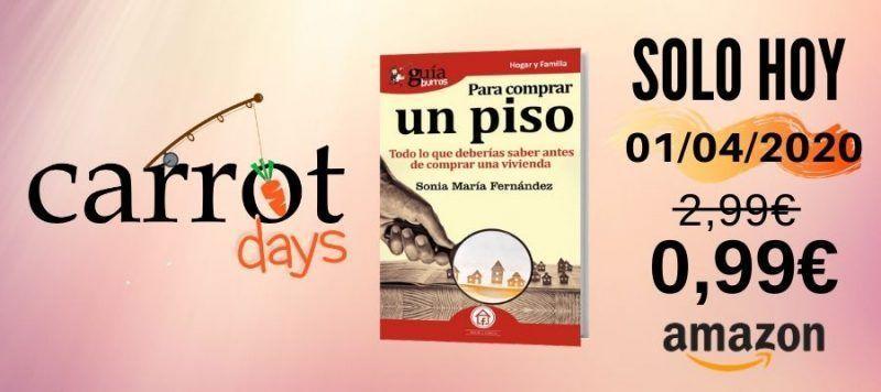 La versión digital del «GuíaBurros: Para comprar un piso» a 0,99€ en Amazon
