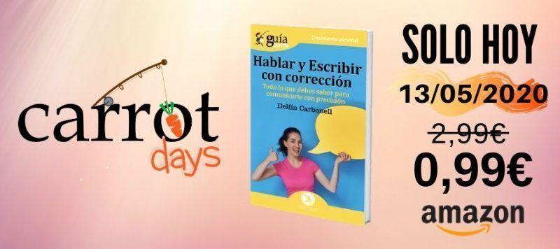 La versión digital del «GuíaBurros: Hablar y escribir con corrección» a 0,99€ en Amazon