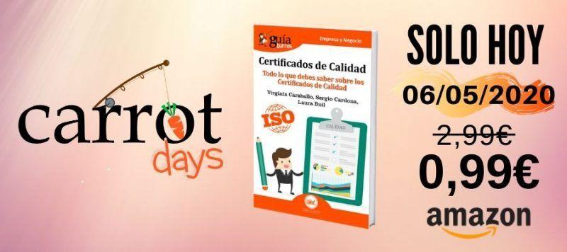 La versión digital del «GuíaBurros: Certificados de Calidad» a 0,99€ en Amazon