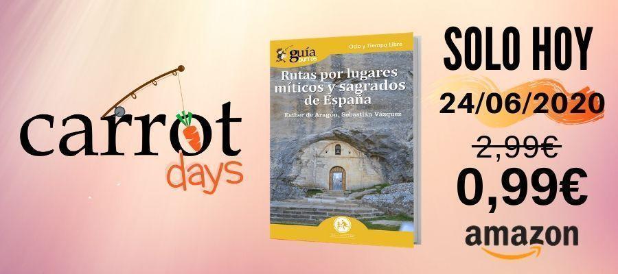 La versión digital del «GuíaBurros: Rutas por lugares míticos y sagrados de España» a 0,99€ en Amazon