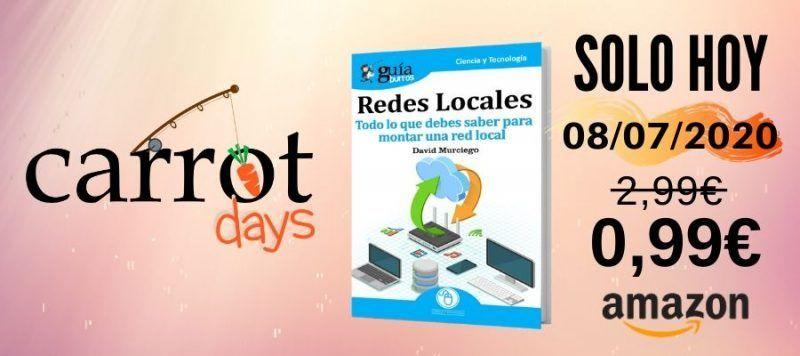 La versión digital del «GuíaBurros: Redes locales» a 0,99€ en Amazon