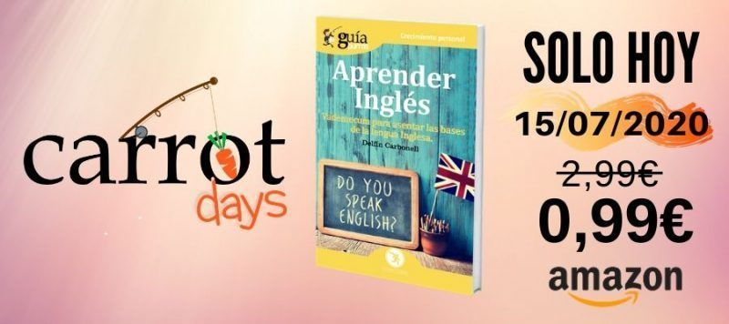 La versión digital del «GuíaBurros: Aprender Inglés» a 0,99€ en Amazon
