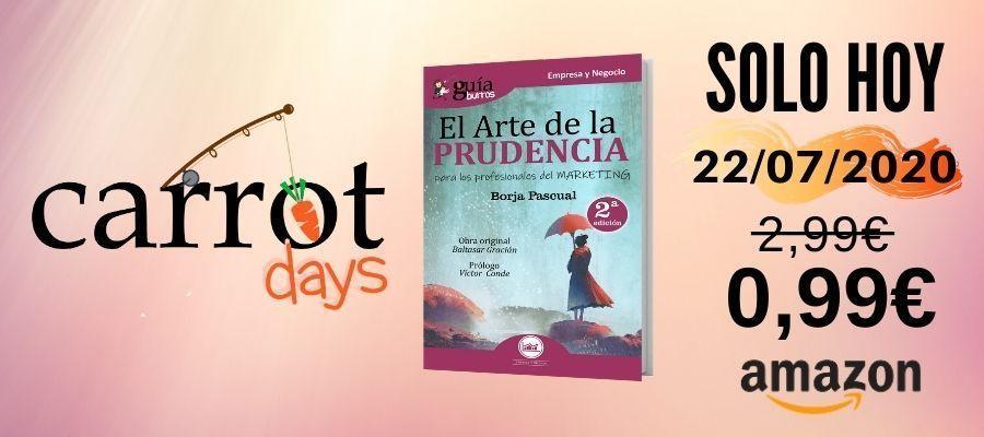 La versión digital del «GuíaBurros: El arte de la prudencia» a 0,99€ en Amazon