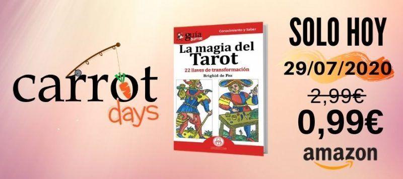 La versión digital del «GuíaBurros: La magia del tarot» a 0,99€ en Amazon