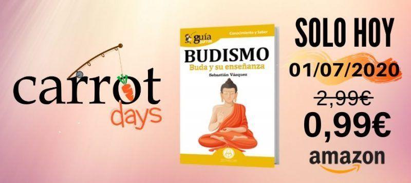 La versión digital del «GuíaBurros: Budismo» a 0,99€ en Amazon