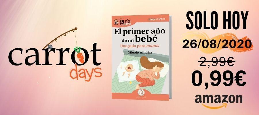 La versión digital del «GuíaBurros: El primer año de mi bebé» a 0,99€ en Amazon