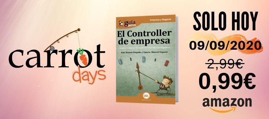 La versión digital del «GuíaBurros: El controller de la empresa» a 0,99€ en Amazon