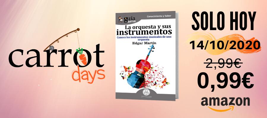 La versión digital del «GuíaBurros: La orquesta y sus instrumentos» a 0,99€ en Amazon