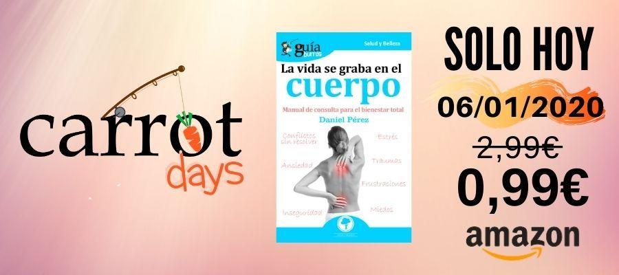 La versión digital del «GuíaBurros: La vida se graba en el cuerpo» a 0,99€ en Amazon
