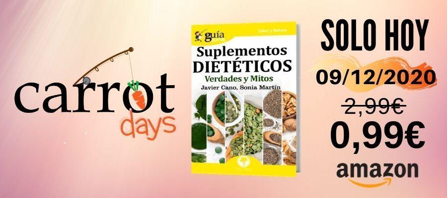 La versión digital del «GuíaBurros: Suplementos dietéticos» a 0,99€ en Amazon