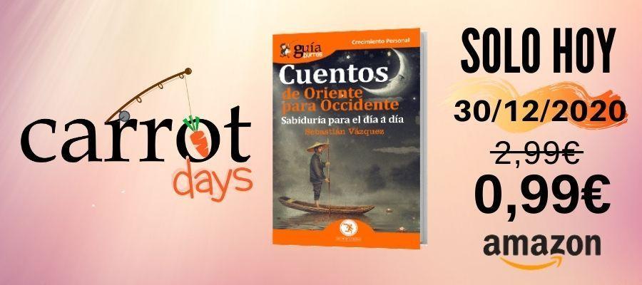 La versión digital del «GuíaBurros: Cuentos de Oriente para Occidente» a 0,99€ en Amazon