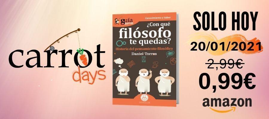 La versión digital del «GuíaBurros: ¿Con qué filósofo te quedas?» a 0,99€ en Amazon