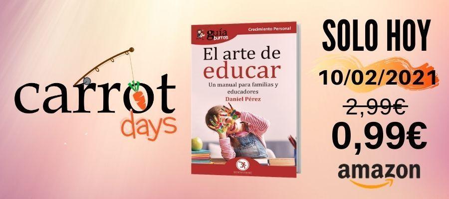 La versión digital del «GuíaBurros: El arte de educar» a 0,99€ en Amazon