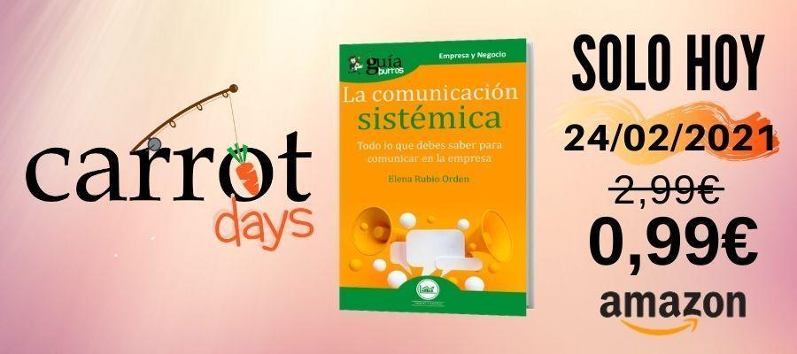 La versión digital del «GuíaBurros: La comunicación sistémica» a 0,99€ en Amazon