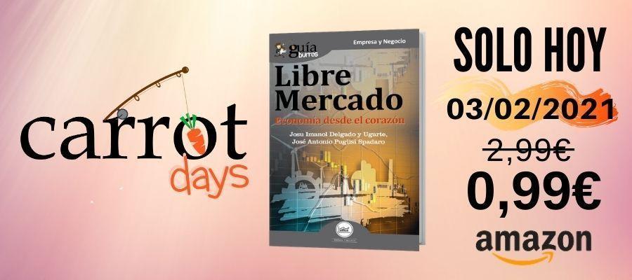 La versión digital del «GuíaBurros: Libre mercado» a 0,99€ en Amazon