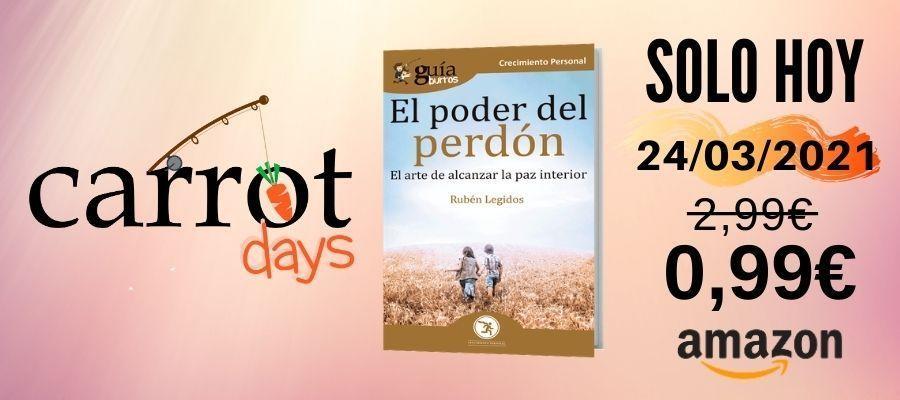 La versión digital del «GuíaBurros: El poder del perdón» a 0,99€ en Amazon