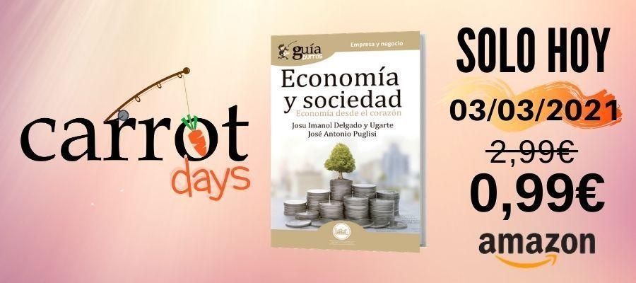 La versión digital del «GuíaBurros: Economía y sociedad» a 0,99€ en Amazon