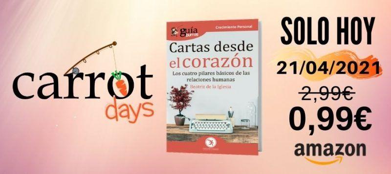 La versión digital del «GuíaBurros: Cartas desde el corazón» a 0,99€ en Amazon