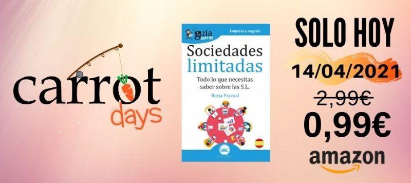 La versión digital del «GuíaBurros: Sociedades Limitadas» a 0,99€ en Amazon